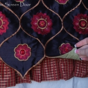 25-Layered Ruffled Valance