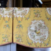 12-Scalloped Box Pleat Valance