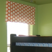 18-Orange Dot Awning