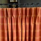 51-Pleated Cafe Curtain