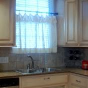 34-Cotton Lace Cafe Curtain