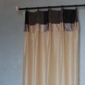32-Door Curtains Using 2 Rods