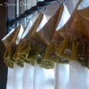 11-Cafe Curtain with Ruffled Cuff & Trim
