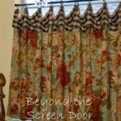 21-Multifabric Cafe Curtains
