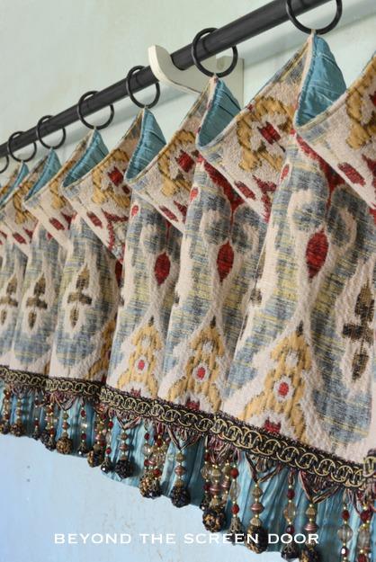 Gallery Valances Amp Roman Shades Sonya Hamilton Designs