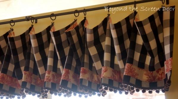Large Buffalo Check Curtains Navy