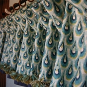 12-Valance with Navy Banding and Trim