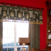 41-Floor Length Panels with Matching Valance