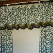 56-Long Panels with A Matching Valance