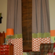 60-Mixing Multiple Fabrics to Create Floor Length Panels