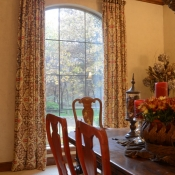 77-Dining Room Window Treatments