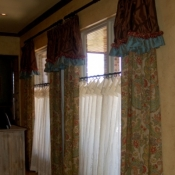 71-Long Panels With An Attached Ruffled Valance