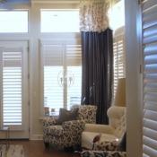 20-Elegant Gray & Ivory Window Treatments