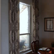 12-Ivory & Gray Window Treatments (2)