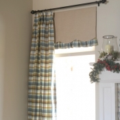 17-Pleated Panels with Ruffled Undervalance