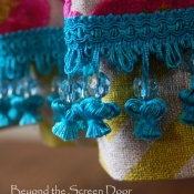 24-Turquoise Fringe