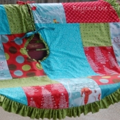 19-Patchwork Tree Skirt