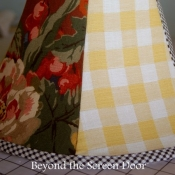11A-How to Recover A Lamp Shade