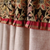 28-Pleated Valance Detail