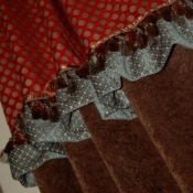 11-Gathered Ruffle and Trim Detail