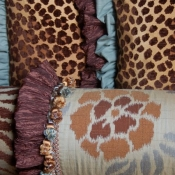17B-aqua-brown-animal-print-pillows