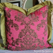 25E-Ruffled Damask Pillow.JPG