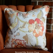 12F-Floral Pillow