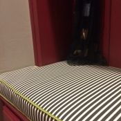 10-Striped Mud Bench Cushion