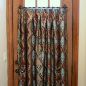 20-Pleated Door Curtain