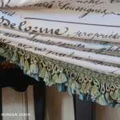 23-Faux Roman Shade Trim & Ruffle Detail 1