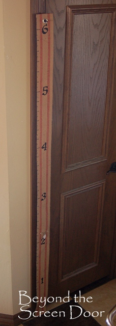 6' Growth Chart