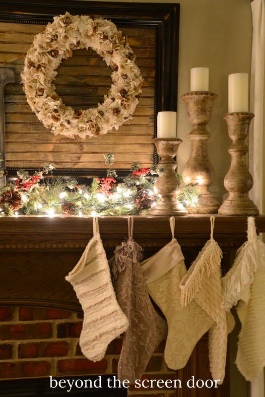 How to Spruce Up a Fabric Wreath with Jingle Bells
