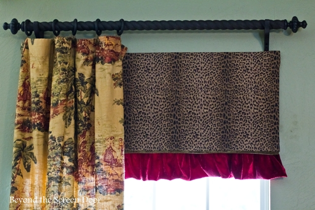 Easy Tutorial For A Board Mounted Under Valance Beyond