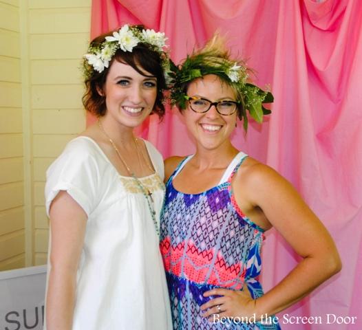 Bridal Shower Flower Crowns
