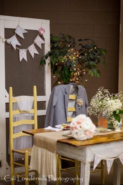 A Sentimental Wedding Reception