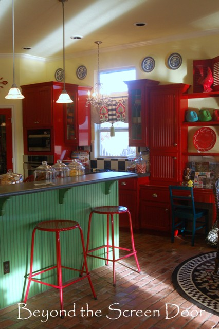 Bright & Cheerful Kitchen