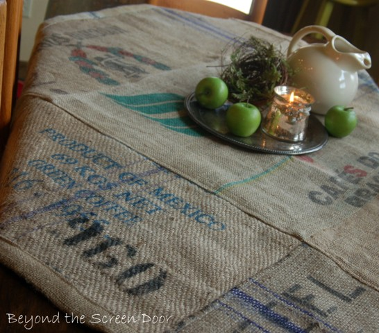 Coffee Bag Table Cloth