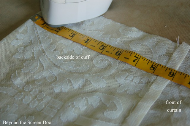 Cuffed Cafe Curtain Tutorial (12)