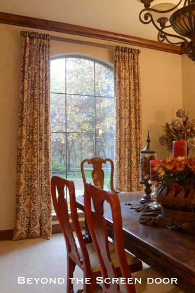 dining room window treatments a touch of 70 s retro