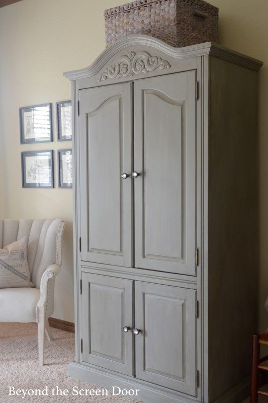 Dixie Belle Paint and My New Armoire