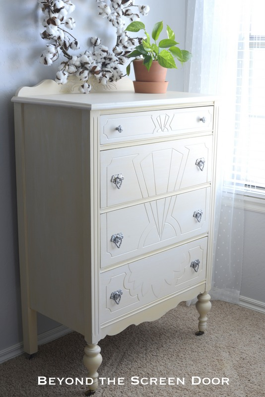 New Paint Update For A Vintage Chest Of Drawers Sonya