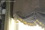 Faux Loose Fold Under Valance with Floor Length Panels 4