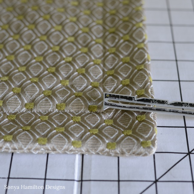 creating a flange pillow