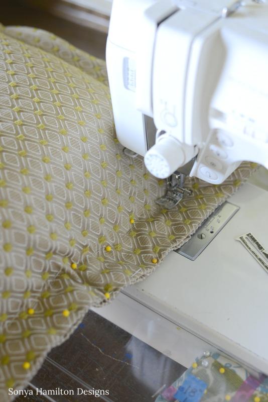 flange pillow tutorial