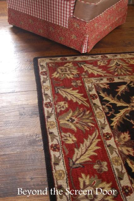 Caring for hardwood floors rug pads and more sonya for Hardwood floors hamilton