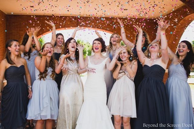 KJB Wedding Confetti Celebration