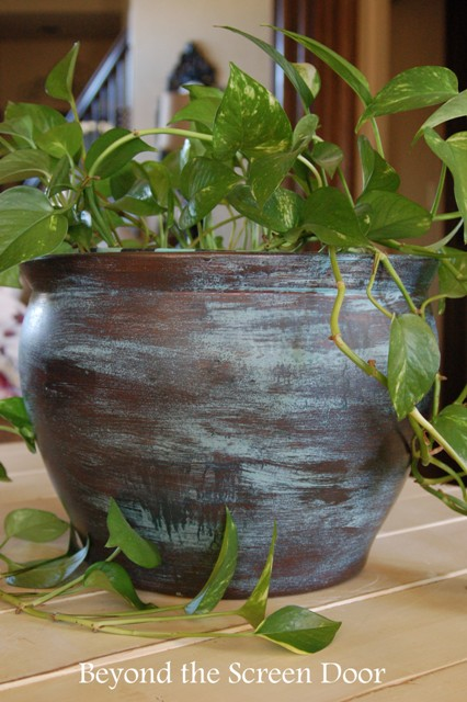 Modern Masters Metal Effects Planter (2)