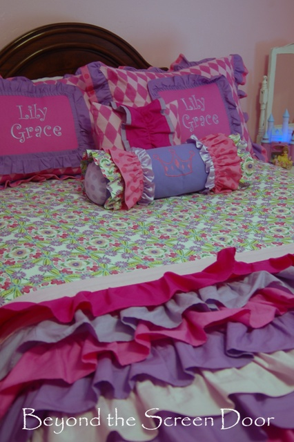 Pink & Purple Bedding