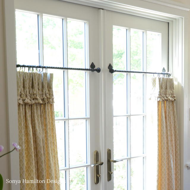 Tasseled & Pleated Cafe Curtains