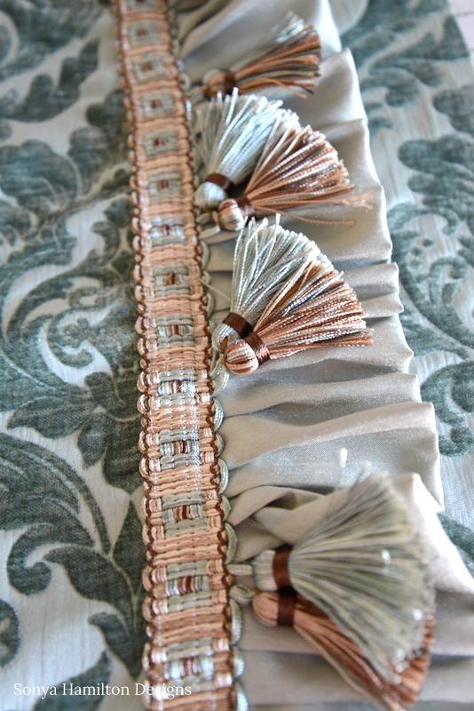 tassel trim for pillow